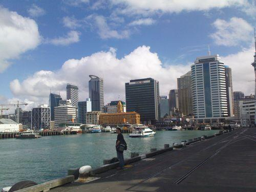Aukland Harbour (Neuseeland_DSC01547.JPG) wird geladen. Work and Travel Australia..